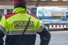 Detinguts per quatre robatoris amb violència en establiments de Lleida
