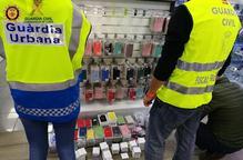 Intervenen a tres botigues de Lleida material falsificat valorat en 23.000 euros