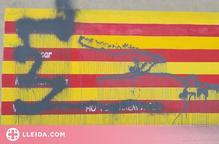 Actes vandàlics als murals del Palau d'Anglesola