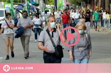 La Fira de Sant Josep omple els carrers de gent