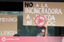 Una setantena de persones es concentren contra el projecte de Nova Tracjusa