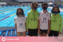 Participació del CEN de Balaguer en el campionat de natació aleví