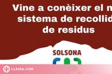 Solsona explica el funcionament del nou sistema de recollida de residus porta a porta