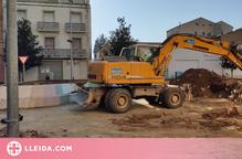 Balaguer continua les obres dels espais urbans per millorar l'accessibilitat