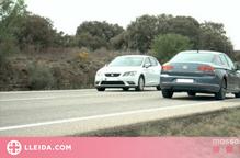 Enxampen un conductor a més de 180 quilòmetres per hora a la Segarra