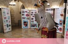 S'exposa l'Àliga de Lleida al Pati del Palau de la Paeria