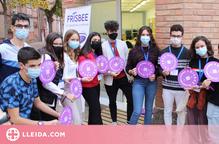 Joves de Lleida impulsen la recollida de productes d'higiene femenina per lluitar contra la pobresa menstrual