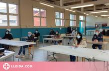 Sessió presencial per formar l'alumnat sobre eines telemàtiques