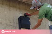 La Paeria instal·la caixes refugi per a ratpenats al parc del riu