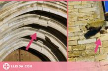 Tanquen d'emergència l'església de Guimerà per problemes estructurals que pateix l'edifici