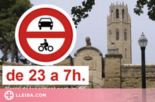 La Seu Vella de Lleida tancarà l'accés a vehicles durant la nit per evitar 'botellons'
