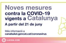 ℹ️ Noves restriccions contra la covid-19 a partir del 21 de juny a Catalunya