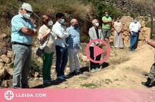Lliuren a familiars les restes d'un soldat de l'exercit franquista recuperades a Les Garrigues