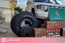 Enxampat amb 1.500 paquets de tabac a la duana de la Farga de Moles