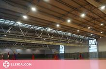 Millores de la il·luminació del pavelló de Balaguer