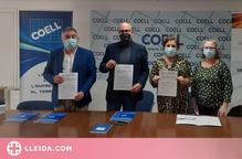 El COELL i AMALL signen un conveni de cooperació amb l'Associació de Comerciants i Empresaris de Magraners