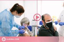 ⏯️ Catalunya comença a vacunar personal educatiu de fins a 55 anys