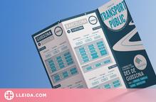 Guissona recull en un fulletó tota la informació del transport públic