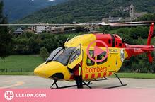⏯️ L'helicòpter de rescat amb base a Tírvia ha fet uns 260 serveis al Pirineu des de l'1 de juliol
