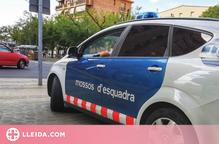 Detingut per dos robatoris amb violència i força, un d'ells a interior d'un vehicle a Lleida