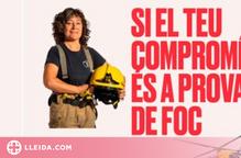 La convocatòria per accedir al cos de bombers assoleix xifres mai vistes de dones inscrites