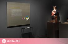 El Museu de Lleida exposa una marededeu del Museu de l'Empordà, tancat per reformes