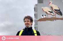 "Preview Oriol Arumí ""Mural de les Cigonyes"""