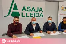 Asaja Lleida i GCAE Energia signen un conveni de col·laboració
