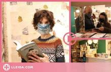 ⏯️ Una quadra d'animals es converteix en una llibreria arran del confinament al Pallars Sobirà