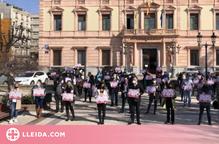 Concentració davant la Subdelegació del govern espanyol