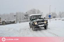 El Pallars Jussà també anul·la el transport escolar pel temporal