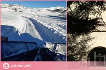 El servei de manteniment hivernal de l'Alta Ribagorça garanteix la normalitat en el primer dia escolar