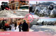 ⏯️ Pobles de les Garrigues acceleren la retirada de neu per evitar la formació de gel