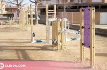 Nou parc biosaludable a Rosselló per potenciar l'exercici físic i els hàbits saludables
