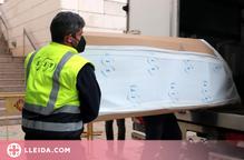 El Museu de Lleida acabarà d'entregar a l'Aragó els béns de la Franja al març