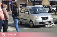 Un vehicle atropella una dona que anava en patinet a Lleida