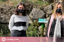 Vilaller estrena un itinerari botànic realitzat per una alumna lleidatana