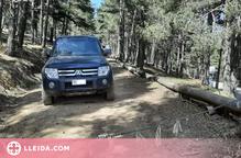Denuncien el pas de vehicles per zones restringides de la Vall de Santa Magdalena