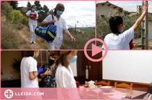⏯️ Així es vacuna al món rural: servei a domicili i recorreguts a peu per fer arribar les dosis