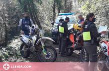 Creixen les sancions per circular amb moto pel medi natural a Catalunya