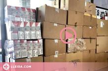 ⏯️ Detinguts a Andorra per transportar tabac de contraban per valor d'un milió d'euros