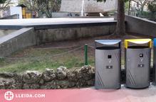 Solsona renova papereres a parcs infantils i entorns escolars