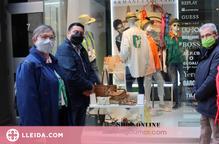 L'Aplec del Caragol, als aparadors de les botigues de Lleida