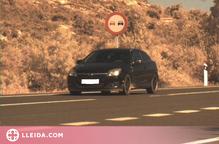 Enxampat conduint a 181 km/h per N-240 a les Garrigues