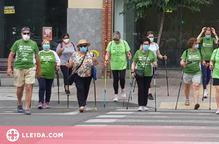L'AECC posa en marxa les 'Rutes Saludables' a Lleida i Alcarràs