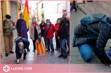 Ruta per netejar les llambordes a Lleida en homenatge als represaliats pels nazis