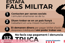 Estafen 118.000 euros a una lleidatana amb un nou cas del 'fals militar'