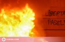 Tornaran les fiances de 10.000 euros als dos empresonats pels aldarulls pro-Hasel a Lleida