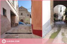 Nova pavimentació al carrer Major de Butsènit d'Urgell