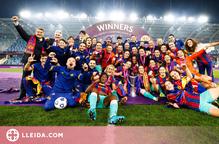 El Barça del balaguerí Lluís Cortés fa història i guanya la Champions